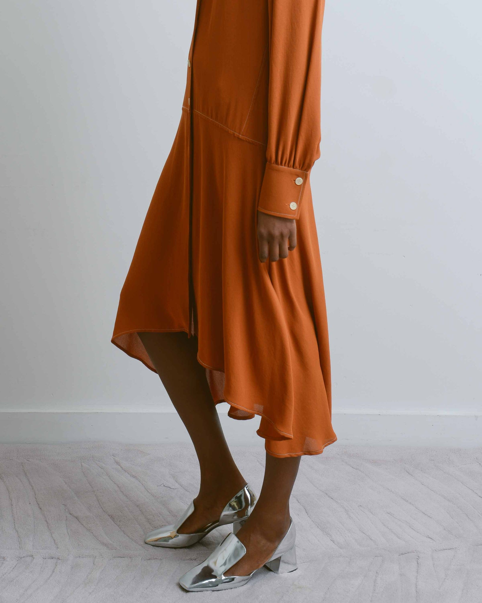 Burnt Honey Morrison Dress