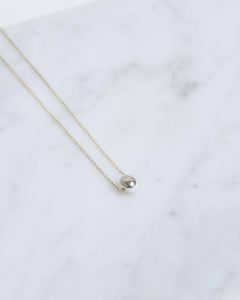 Sterling Silver Dot Necklace