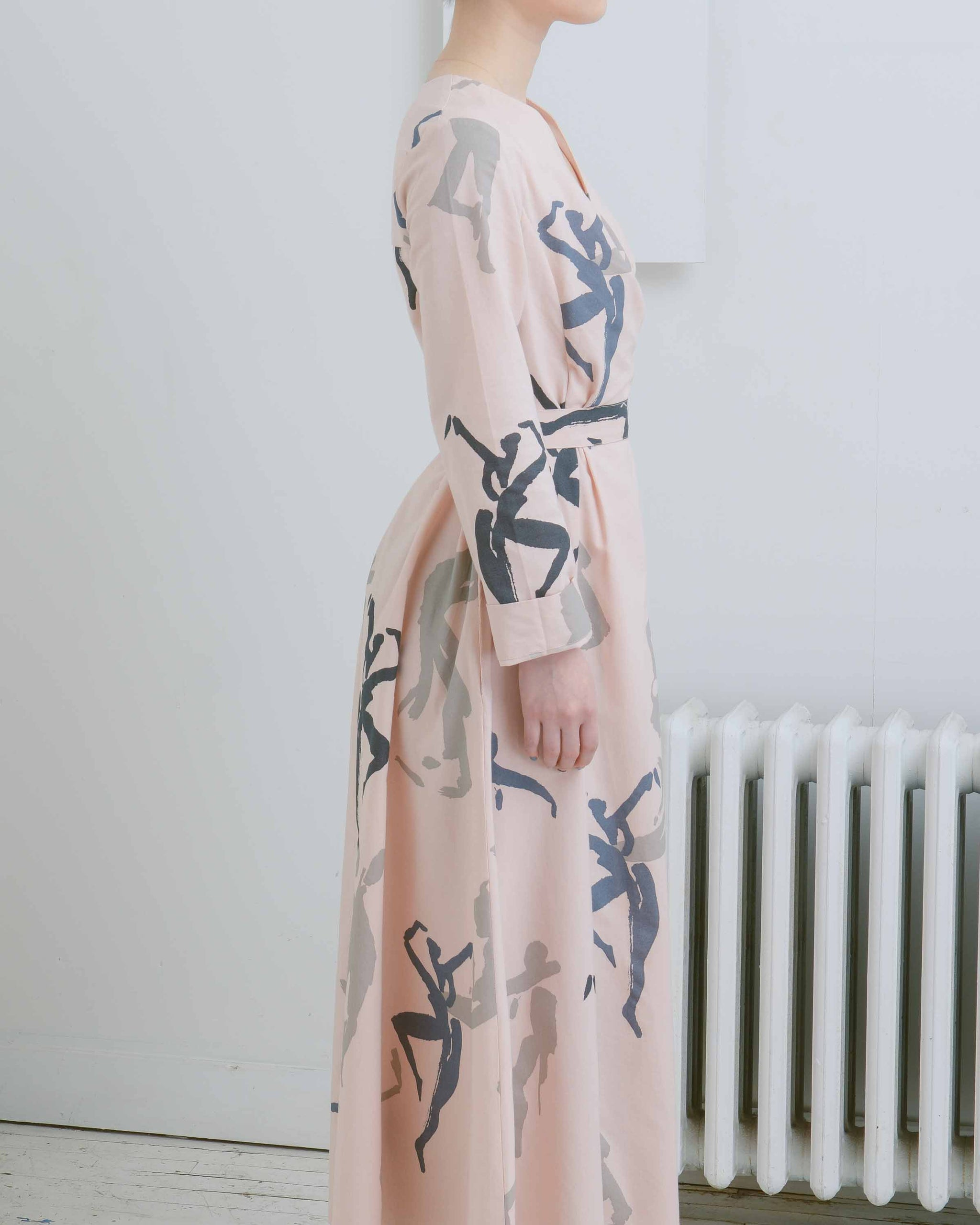 Dancer Print Dress