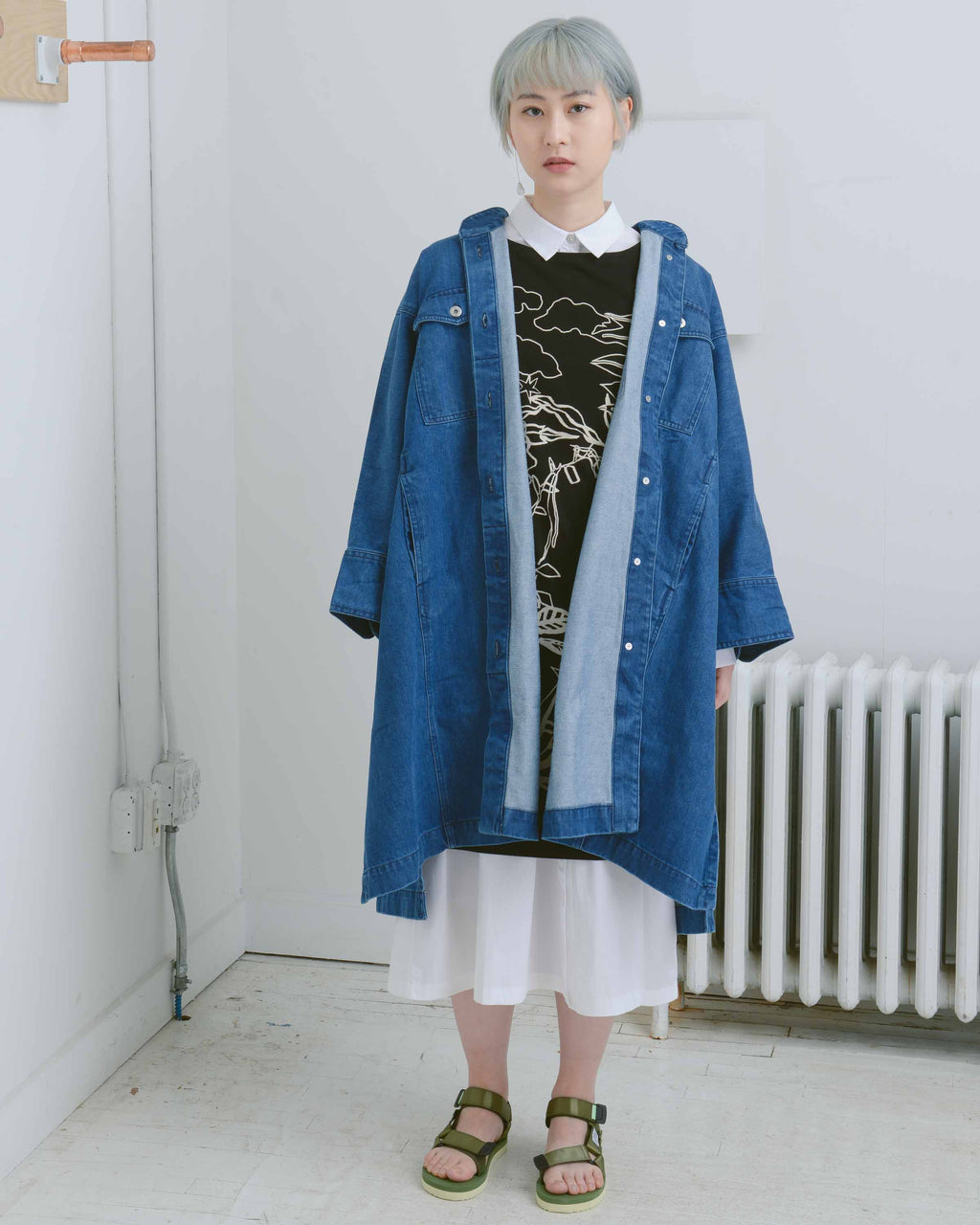 Denim Adapt Coat