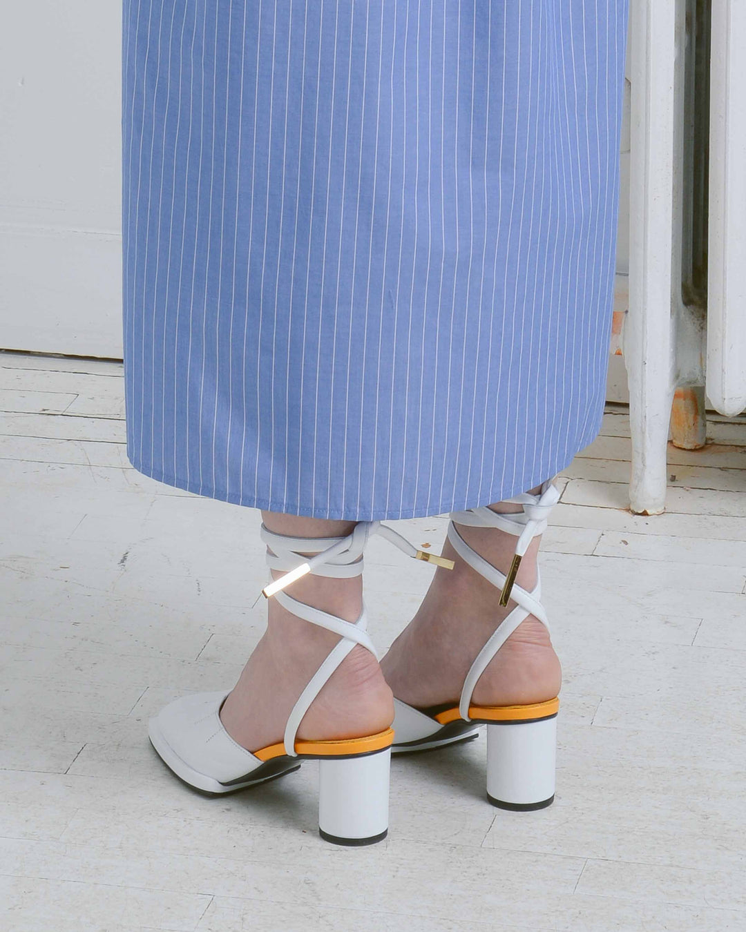 Ankle Wrapped Sandal