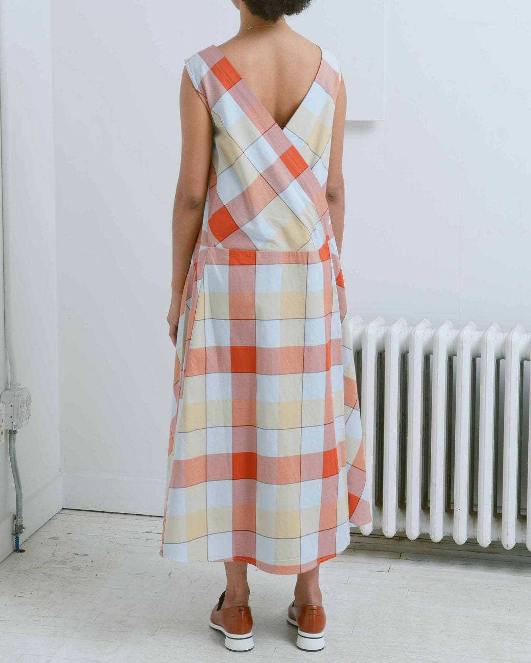 Checked Theatre Dress
