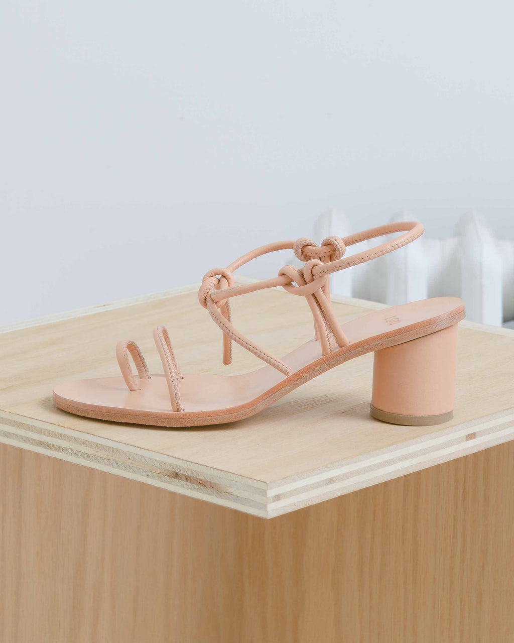 Leather Strap Sandal