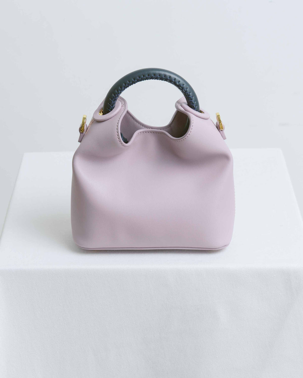 Mauve & Navy Madelaine Bag