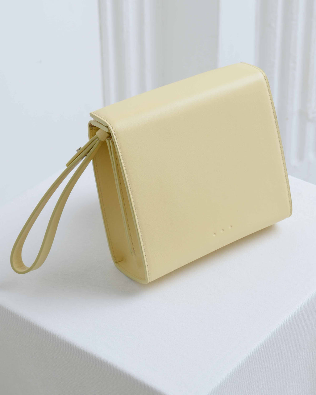 Light Yellow Pouch Bag