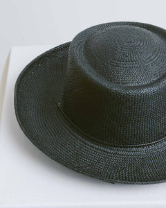 Black Gambler Hat