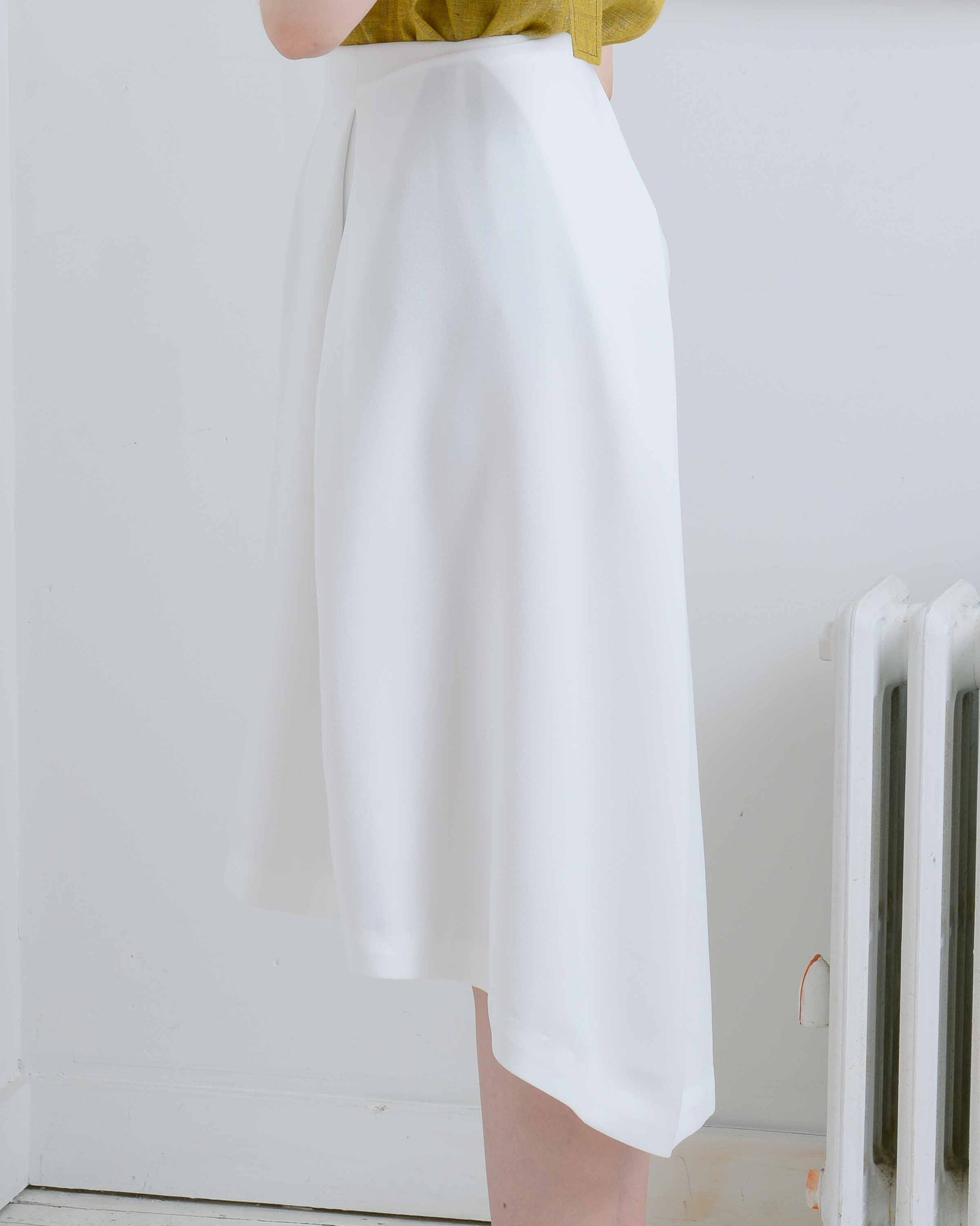 Piece of Ring Midi Skirt