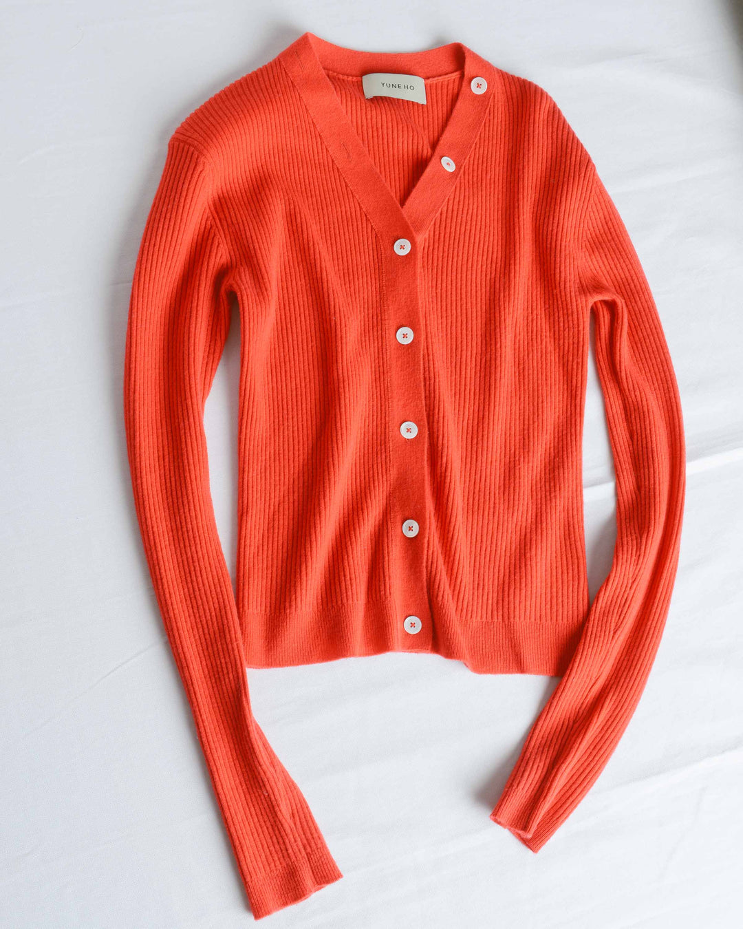 Crimson Veronique V-Neck Cardigan