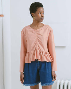 Jane Ruched Front Top