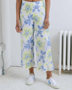 Gemma Floral Ruffle Pant
