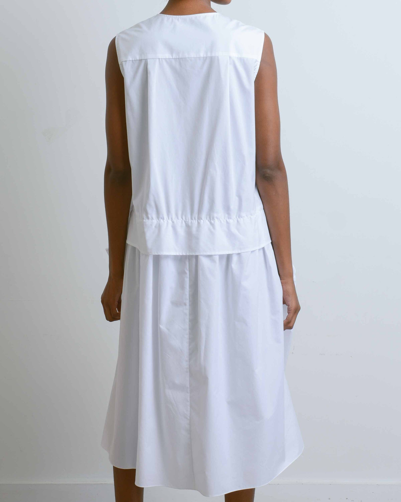 Asymmetrical Side Pocket Dress