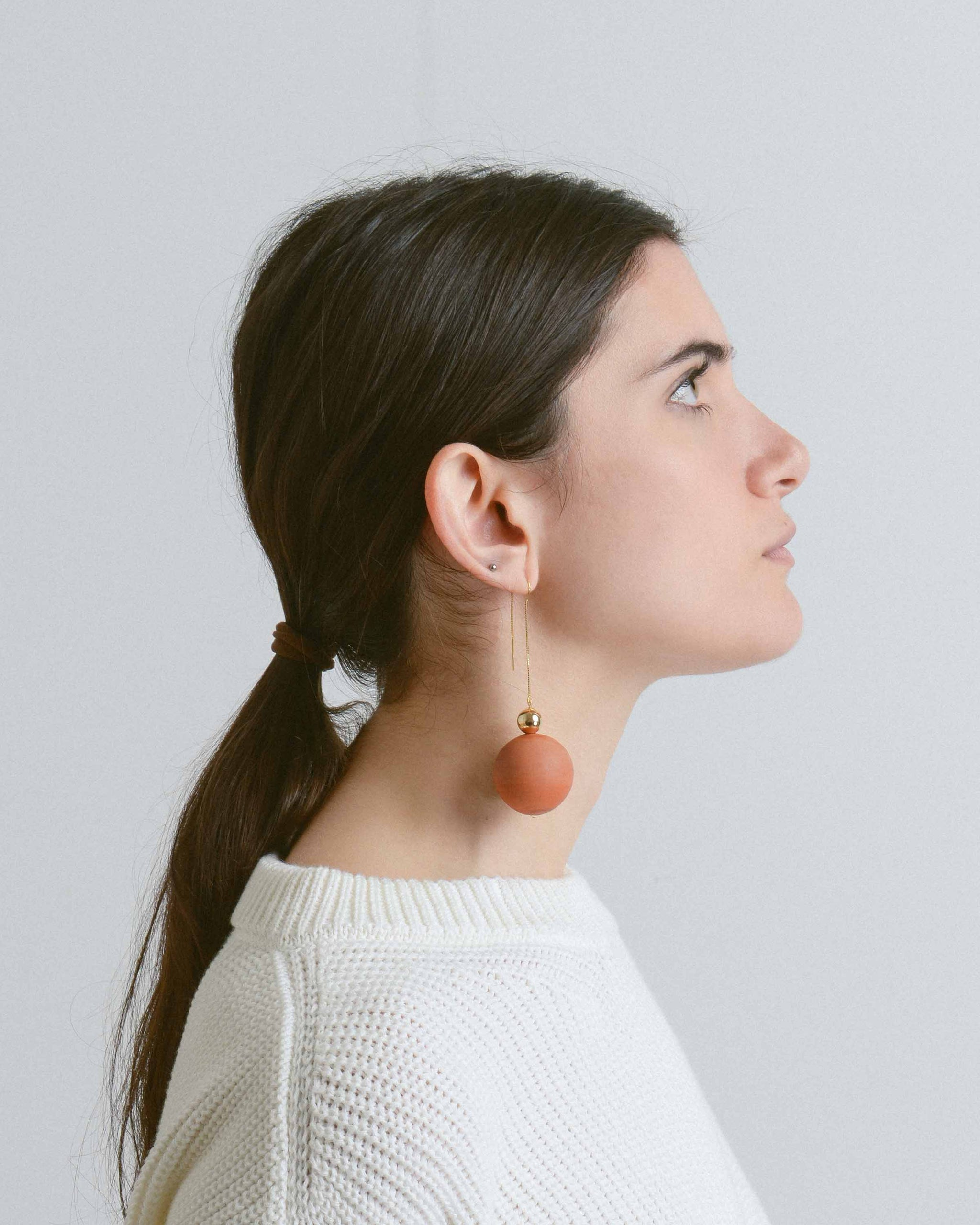 Terracotta Rene Earrings