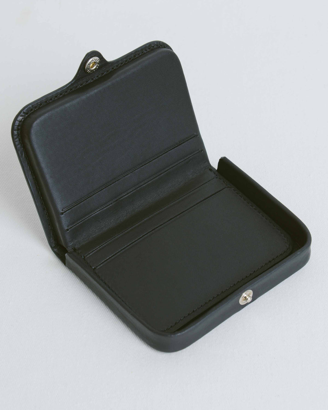 Black Card And Coin Holder