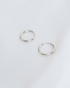 Sterling Silver Small Hoops