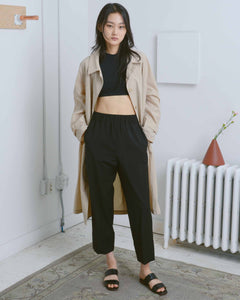 Black Em Pull-On Pants