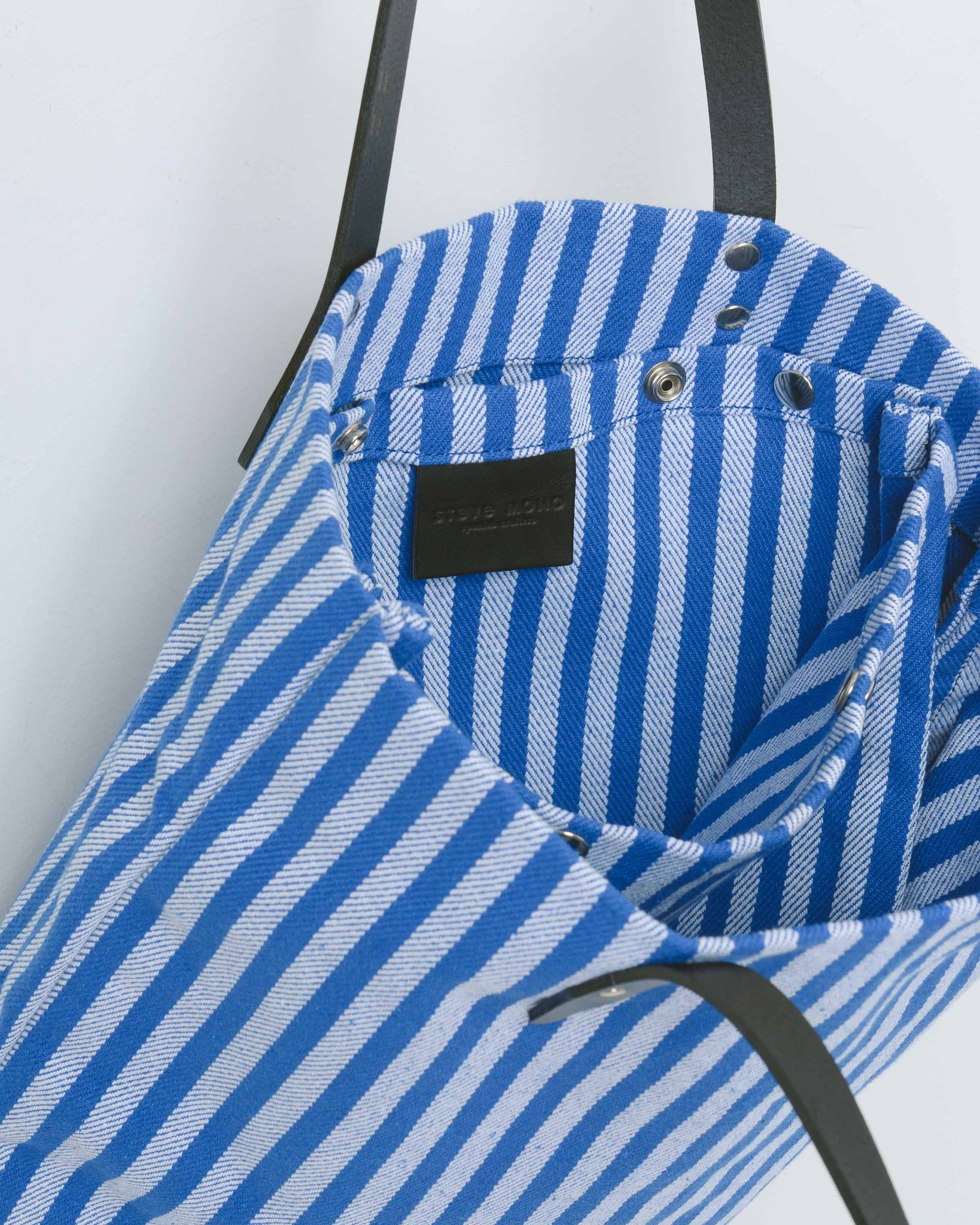 Blue and White Jackson Tote