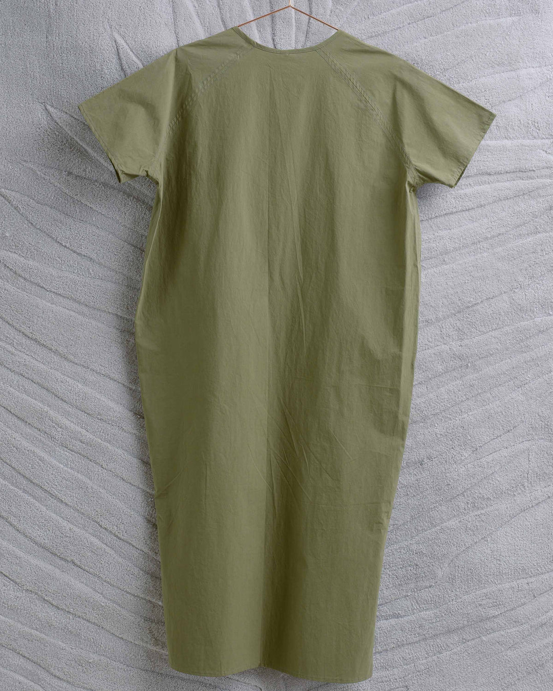 Green Cotton Key Dress