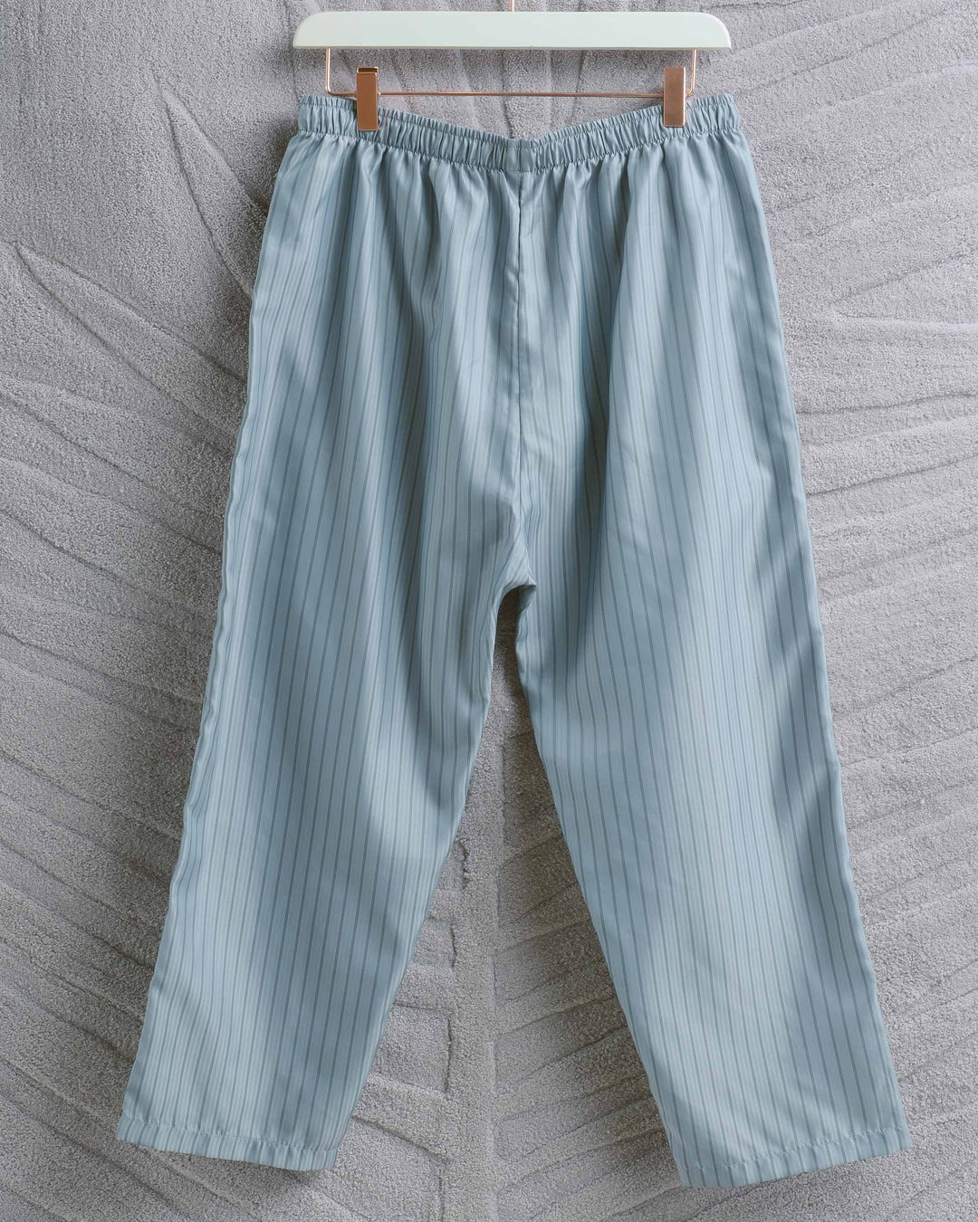Blue Stripe Poly Judd Pant