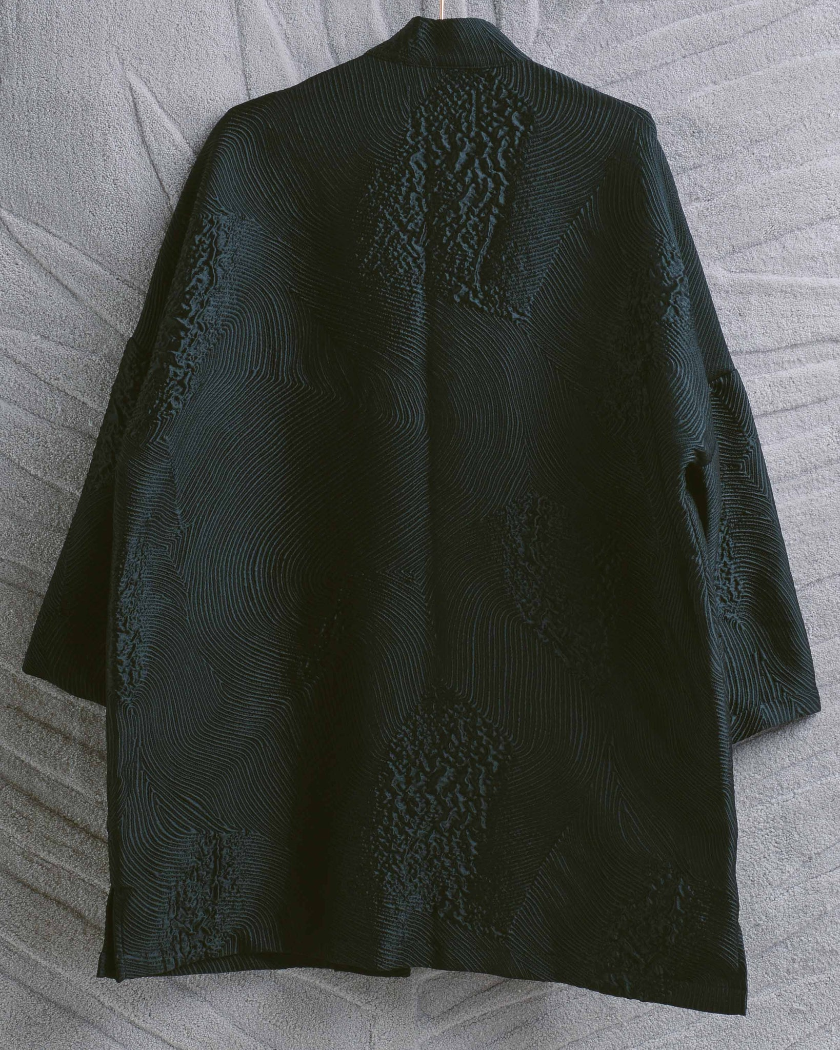 Black Jacquard Range Jacket