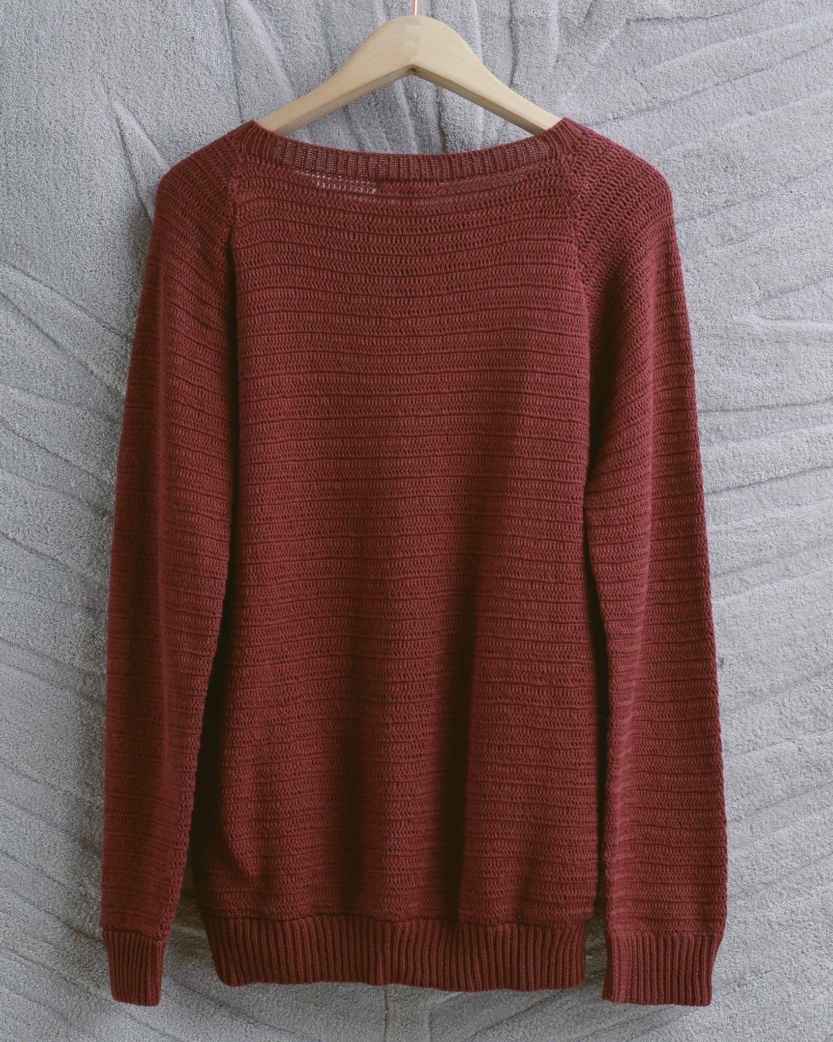 Maroon Mona Sweater