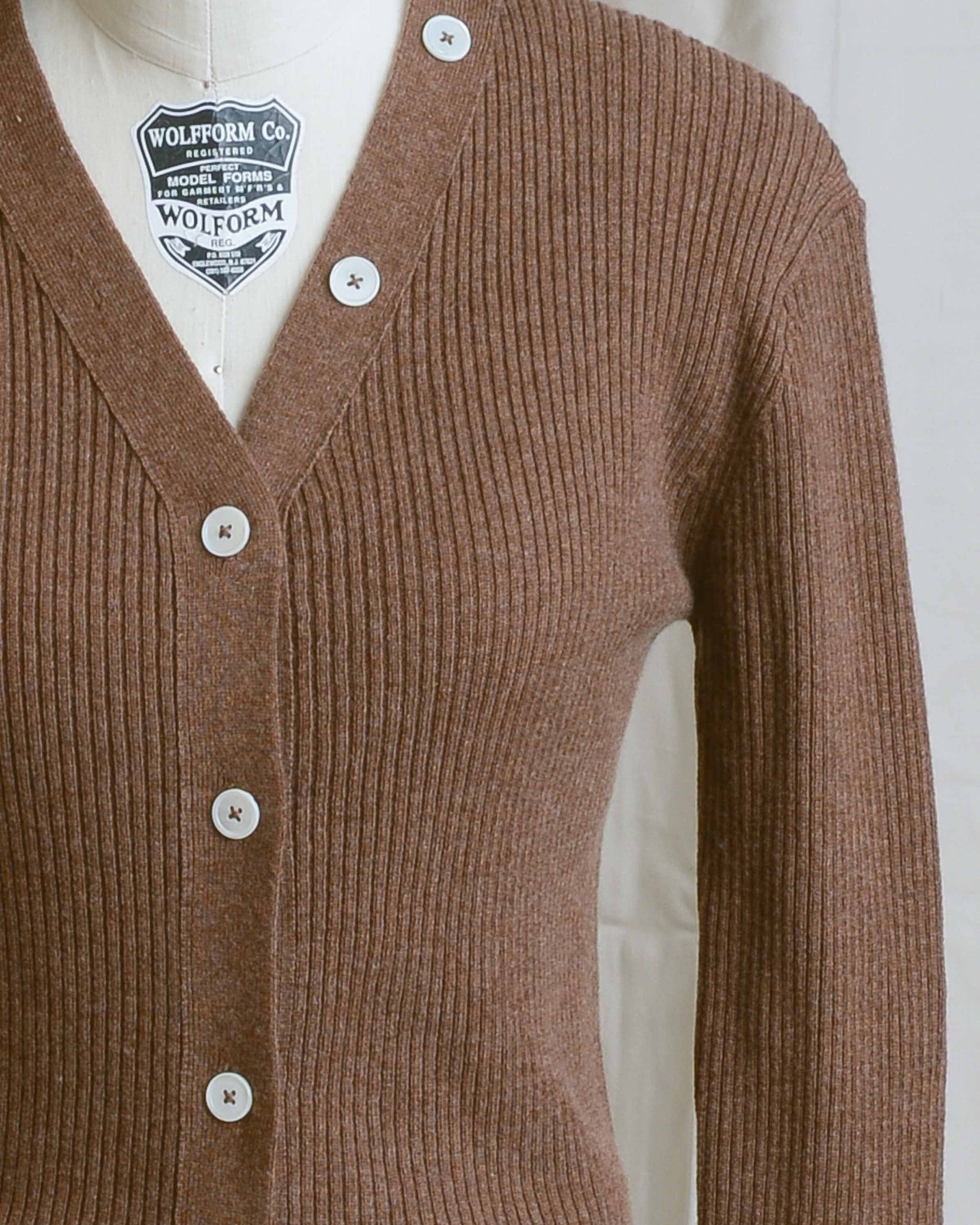 Brown Sugar Veronique V-Neck Cardigan
