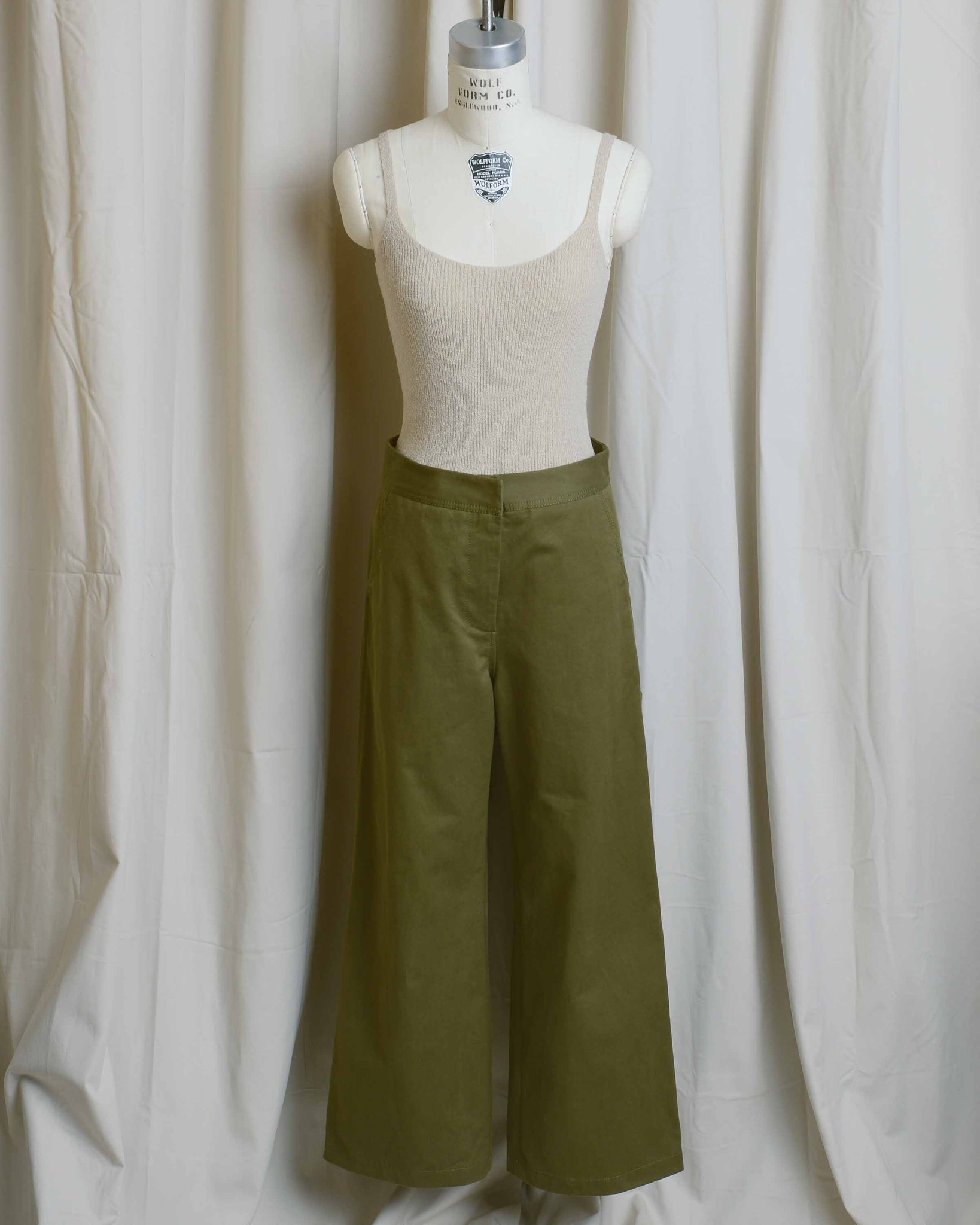 Jane Cotton Twill Work Pant