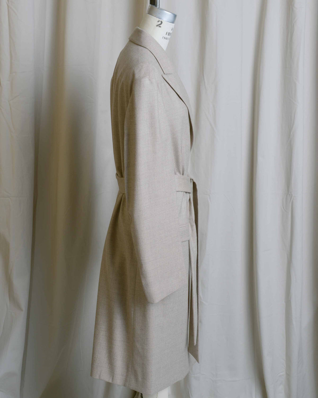Colin Tailored Belted Coat