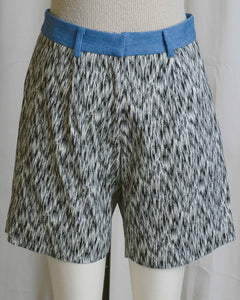 Printed Tailored Shorts