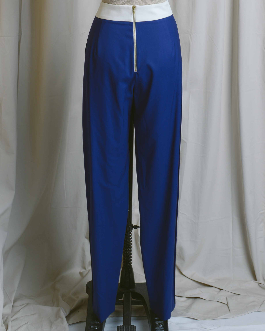 Cobalt Relaxed Trousers