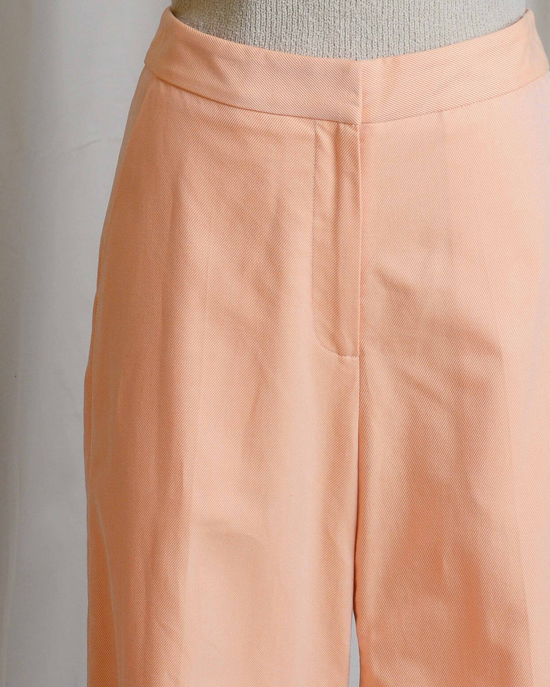 Tangerine Wide Cuff Pants