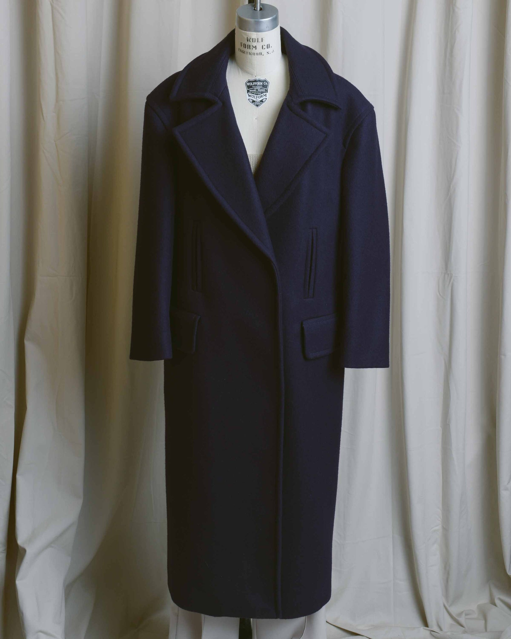 Winter Wool Peacoat