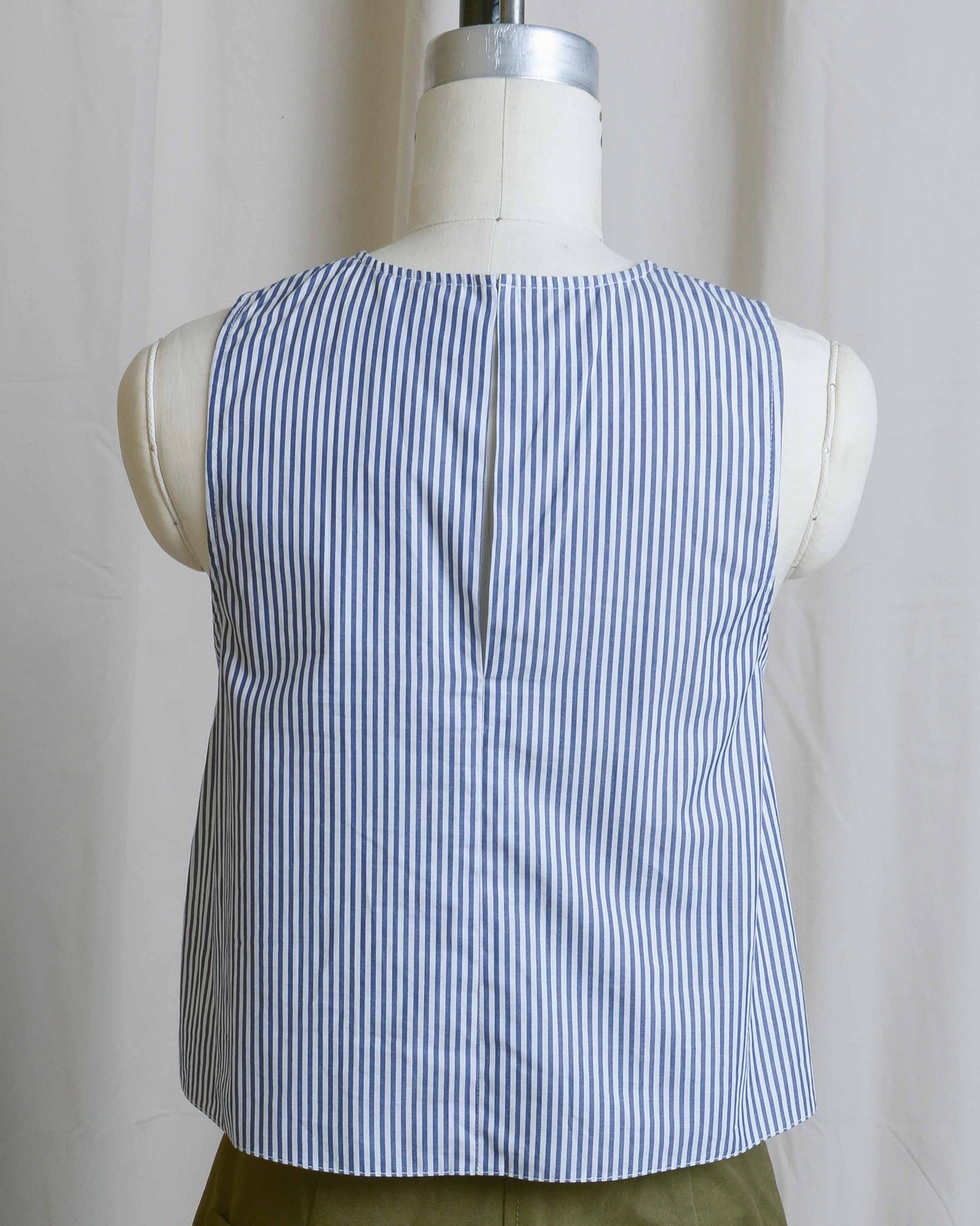 Racer Front Striped Tank