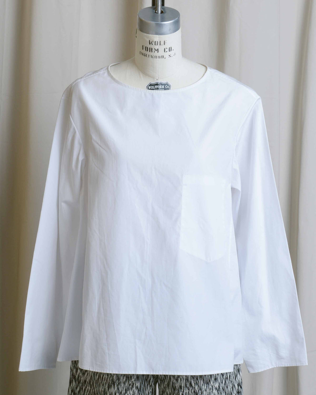 White Cotton Esrey Top