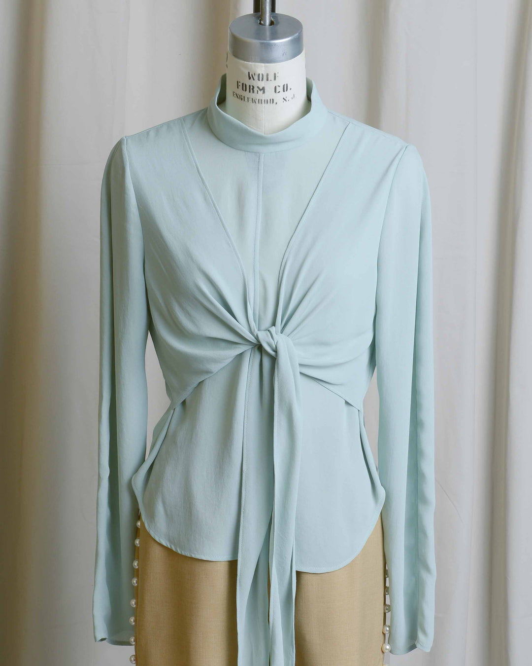 Mint Nora Blouse