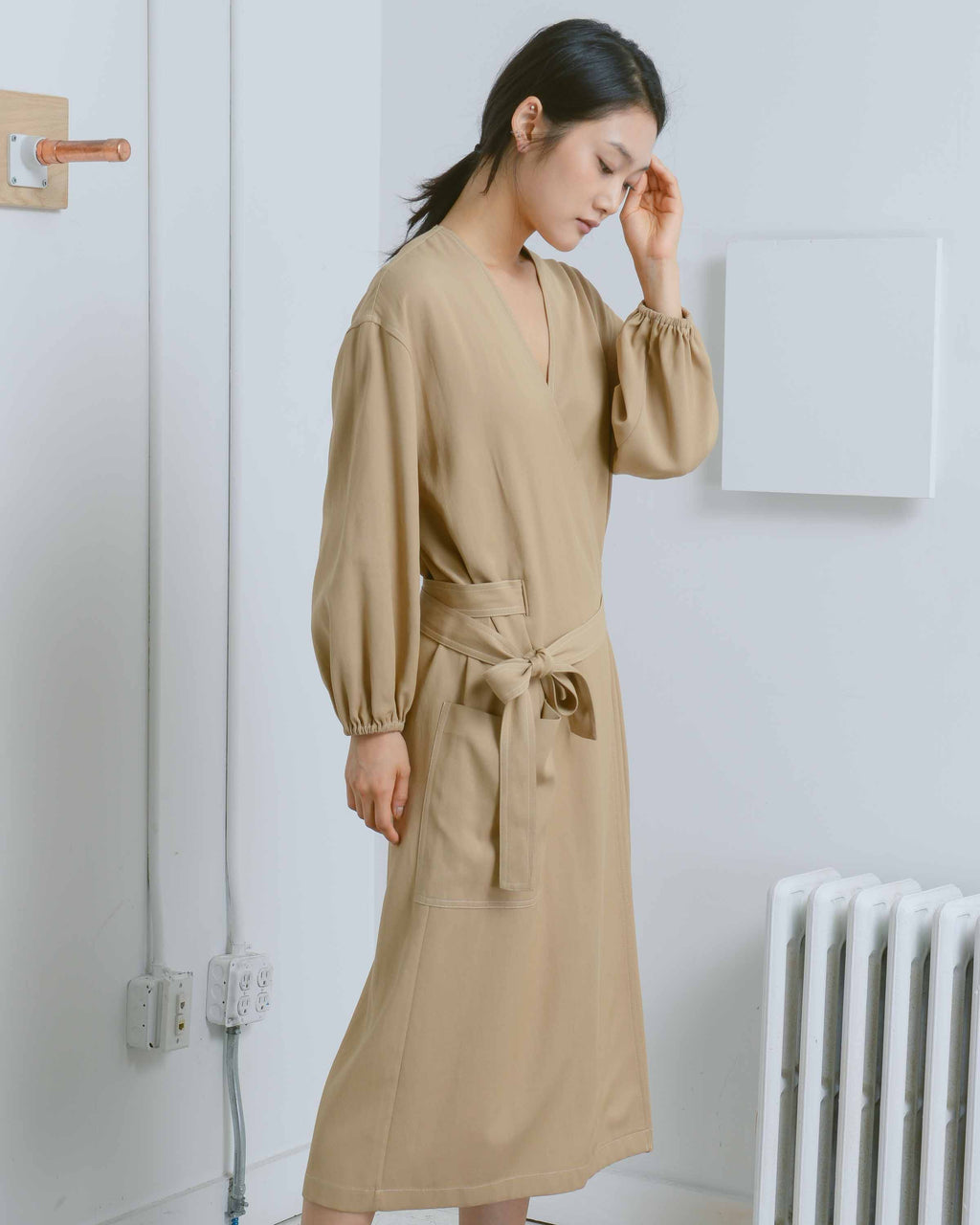 Isabella Wrap Dress