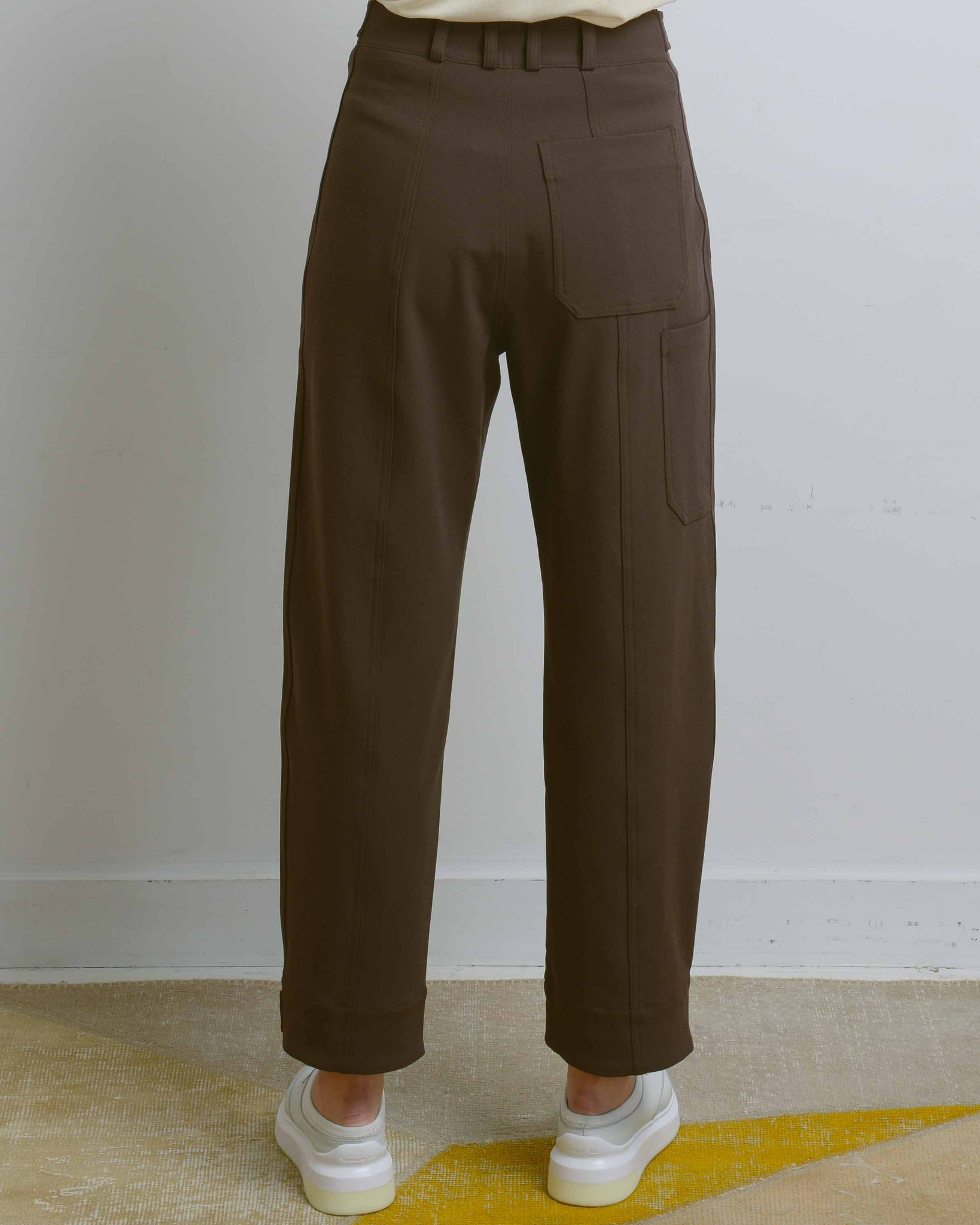 Olive Workwear Trousers