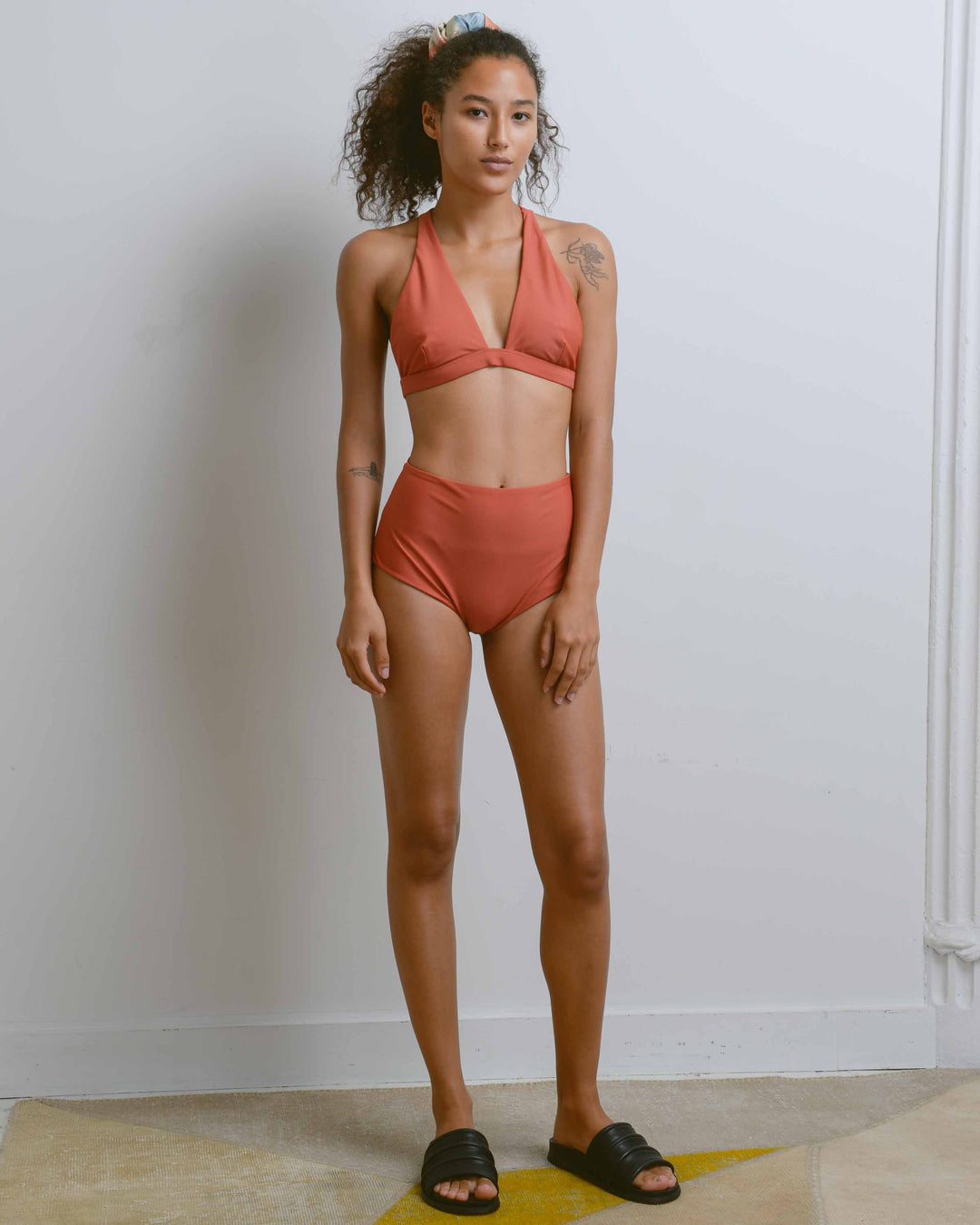 Sienna High Waisted Swim Brief
