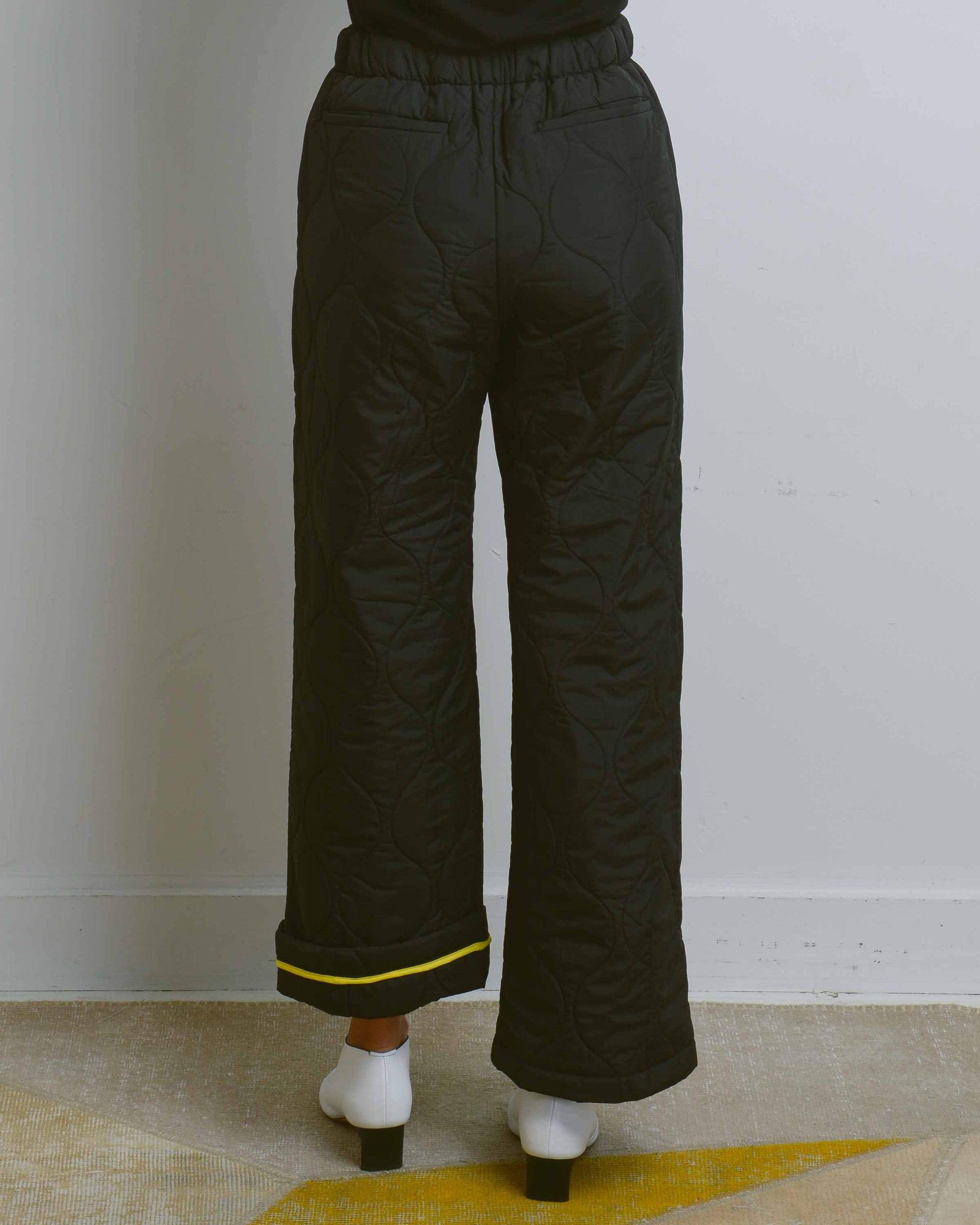 Black Cipolla Wadding Pants