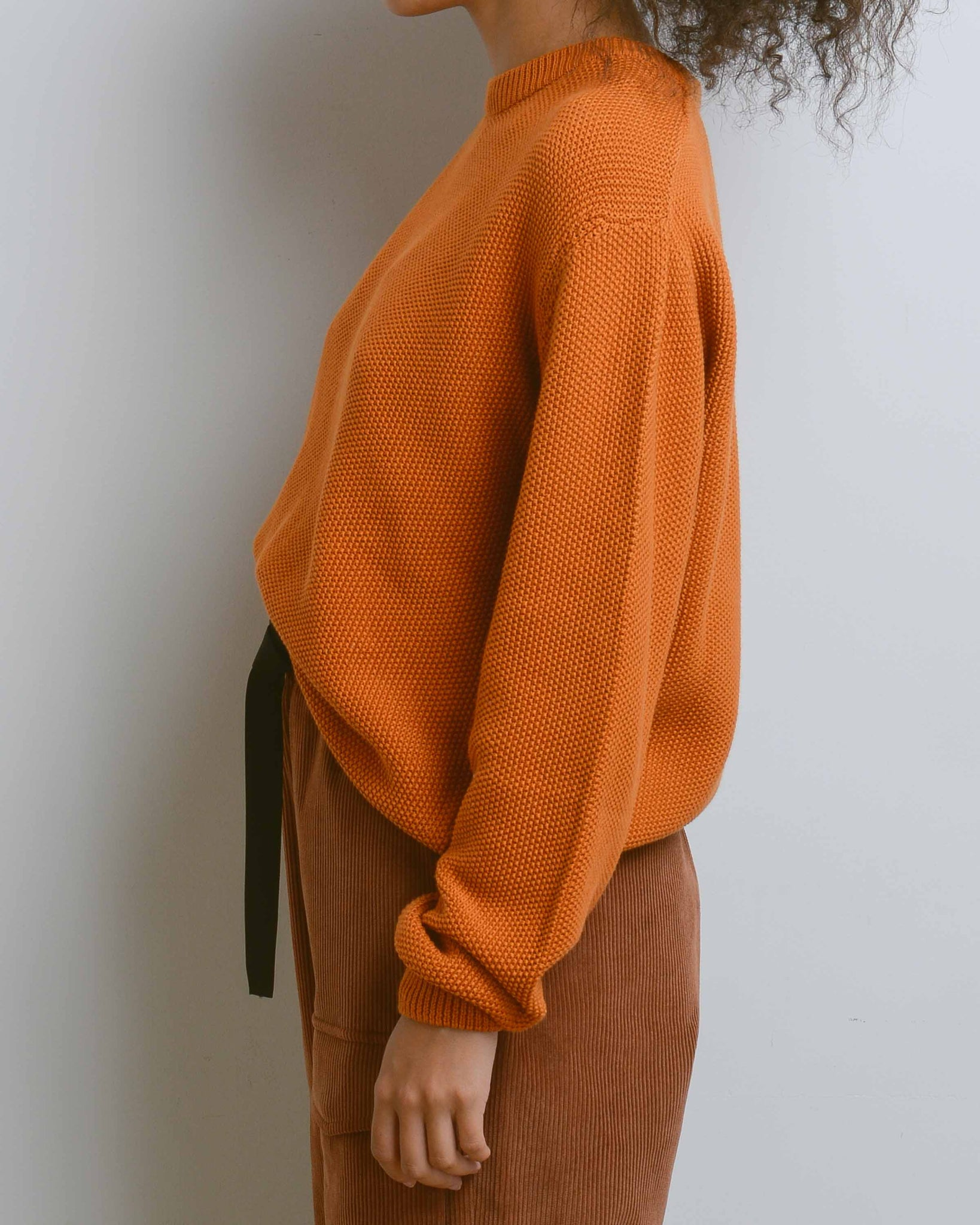 Rust Escape Crew Sweater