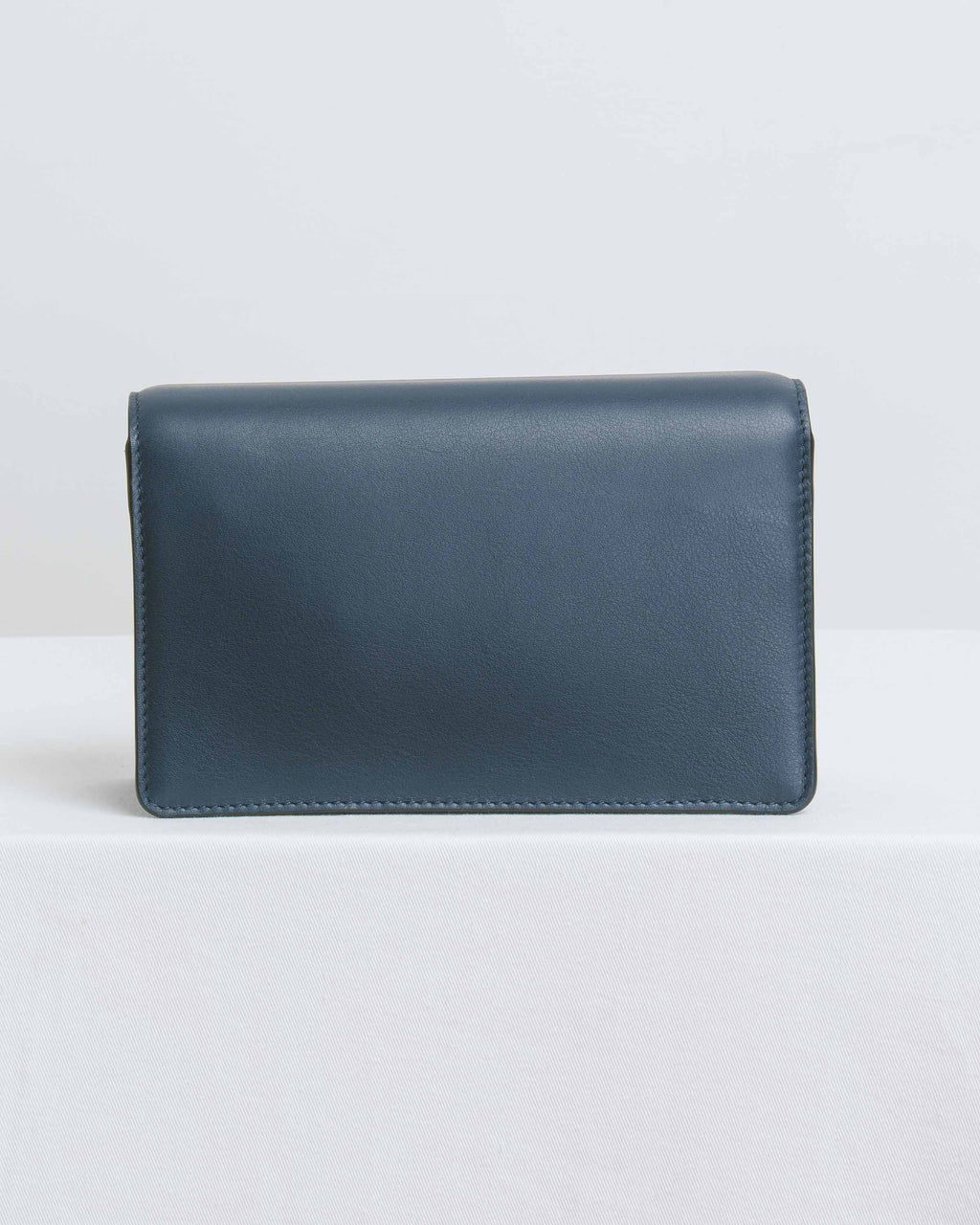 Dark Navy Nappa Classic Bag