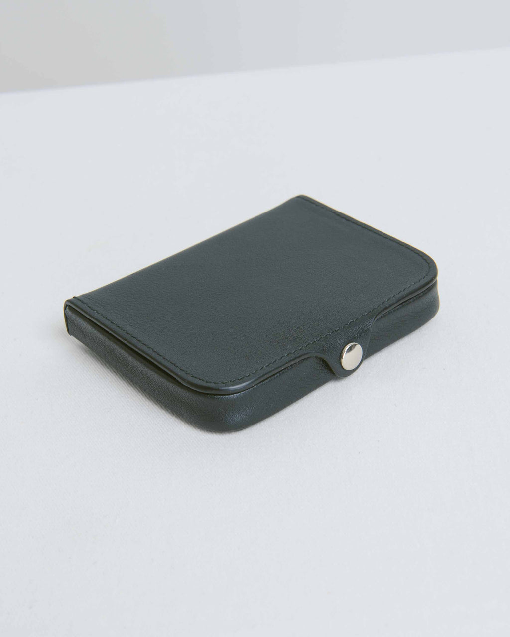Nappa Black Card and Coin Holder
