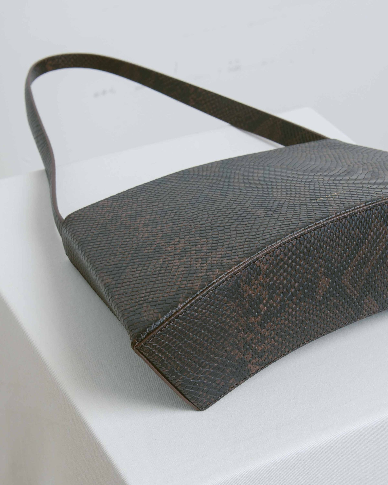 Burgundy Curve Bag