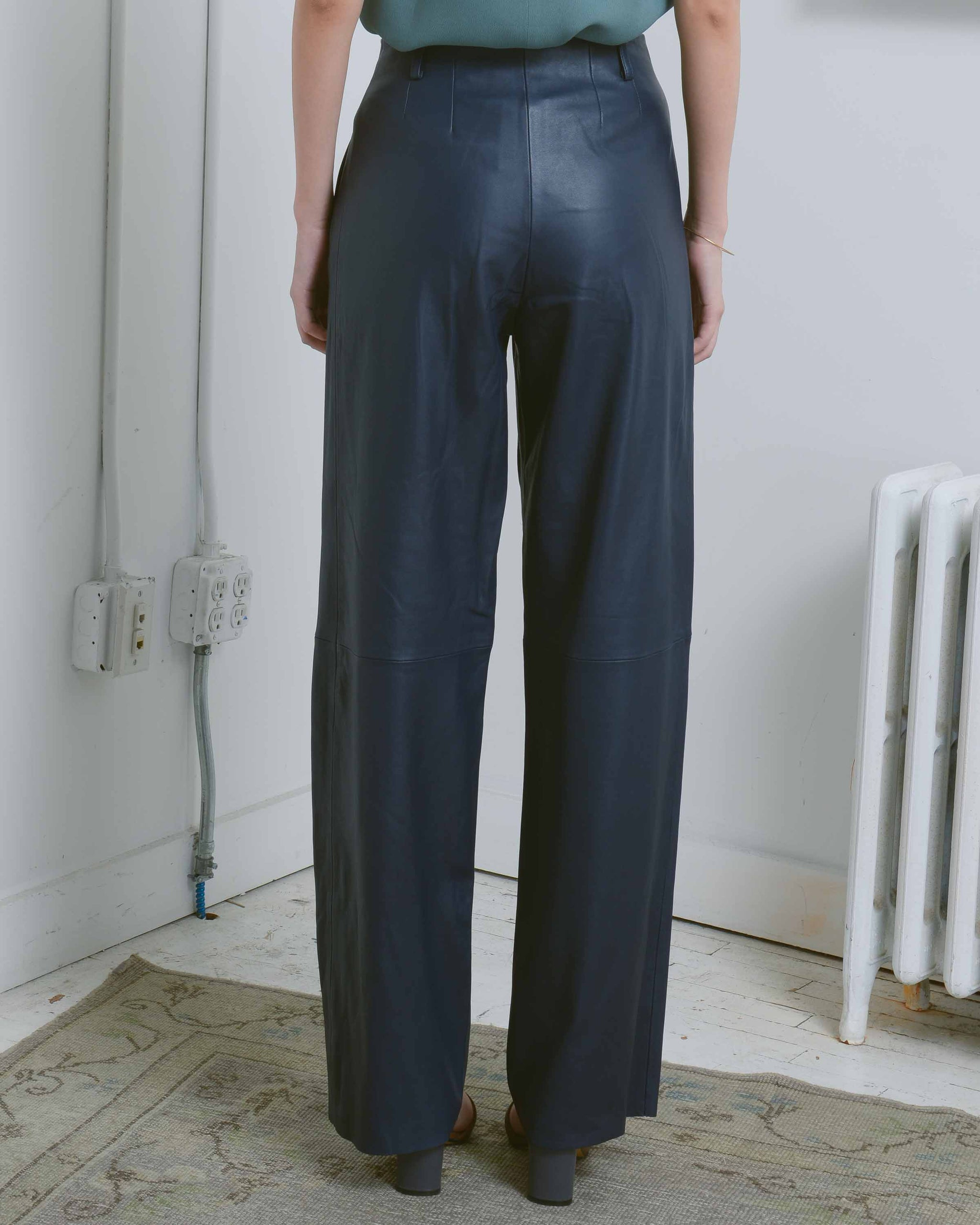 Bess Leather Pant