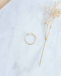 14k Gold Large Ear Cuff