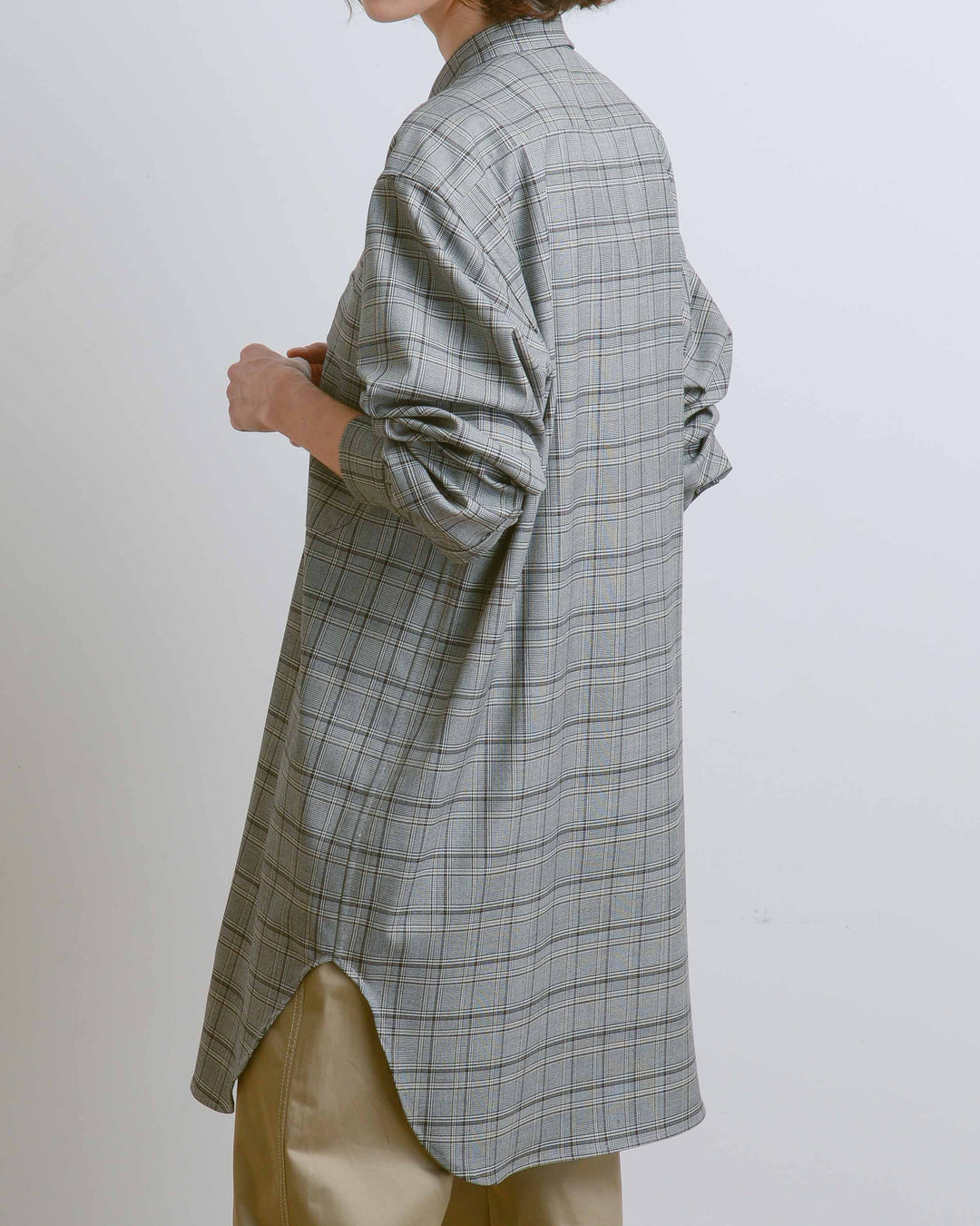 Loane Checked Long Shirt