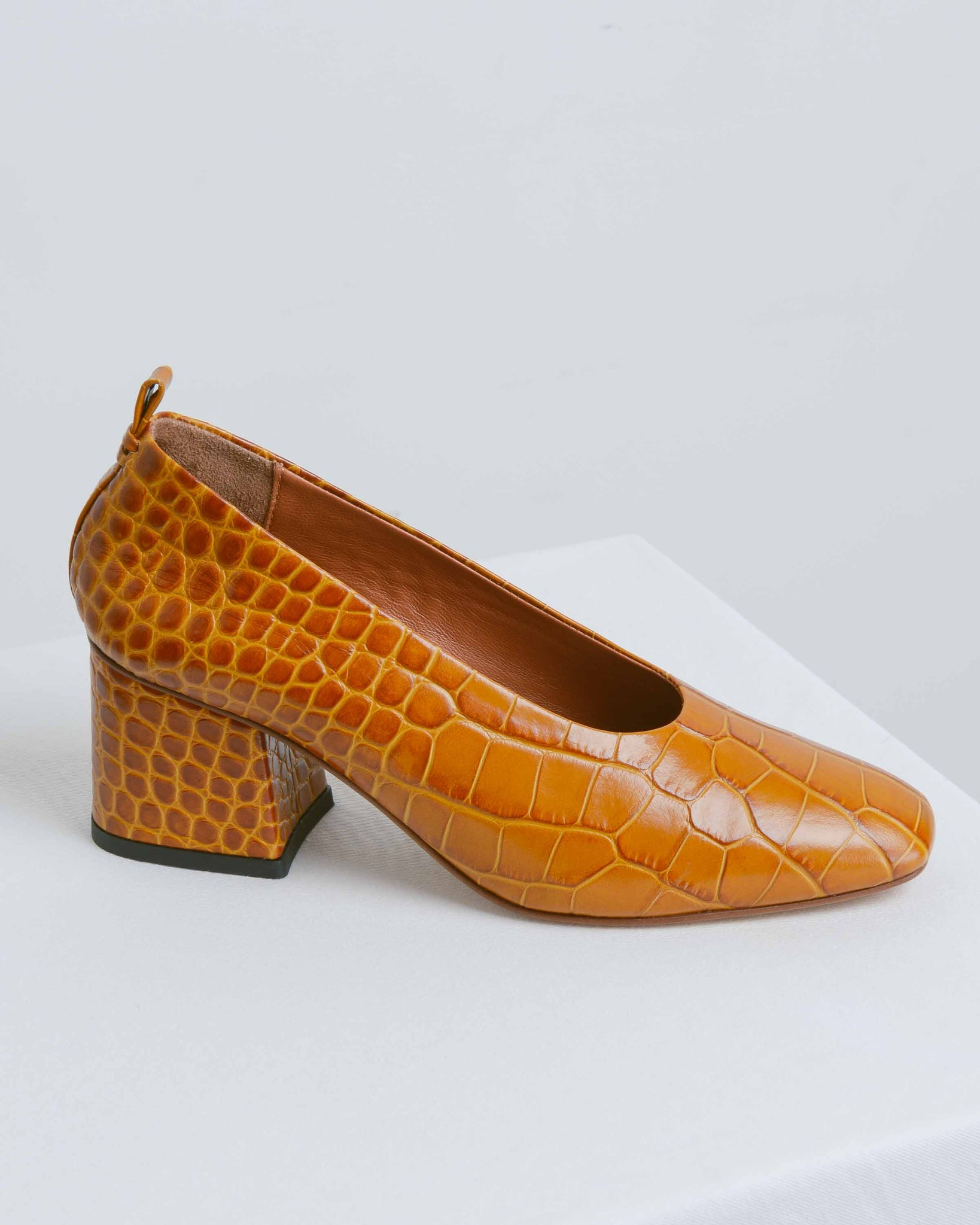 Croco Camel 1842 Pumps