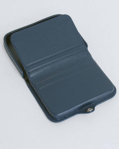 Dark Navy Card and Coin Holder