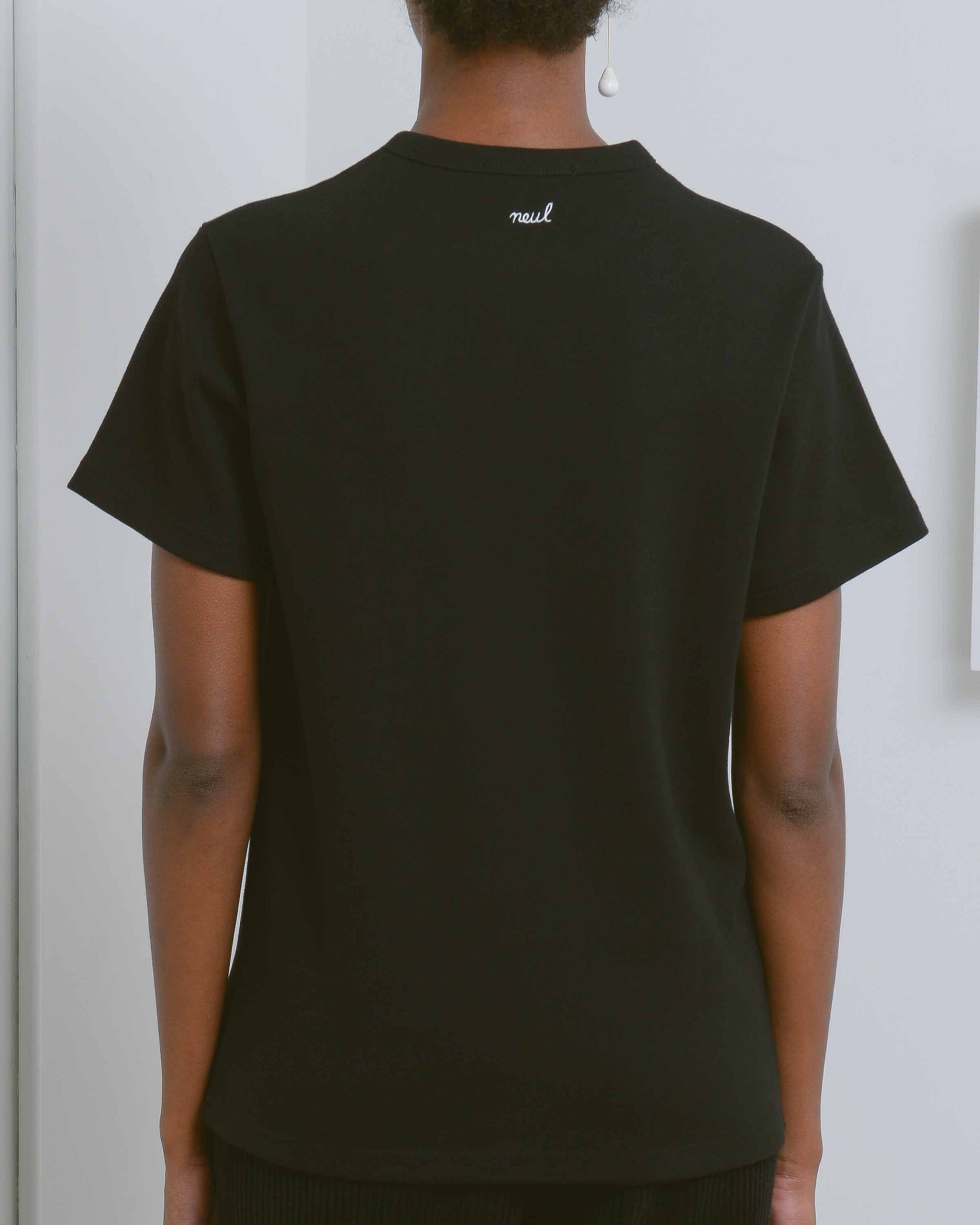 Black Inapsquare Collaboration T-Shirt