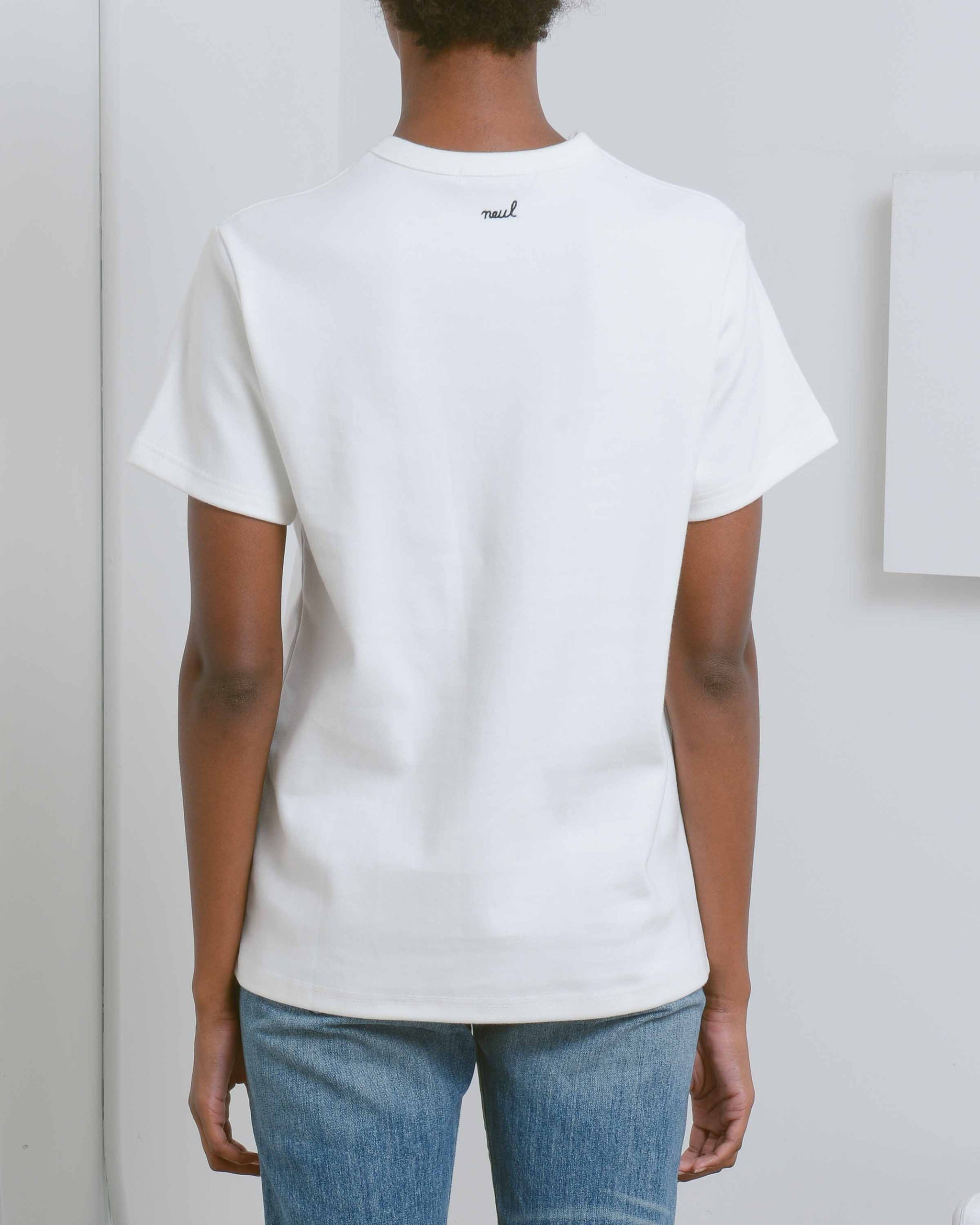 White Inapsquare Collaboration T-Shirt