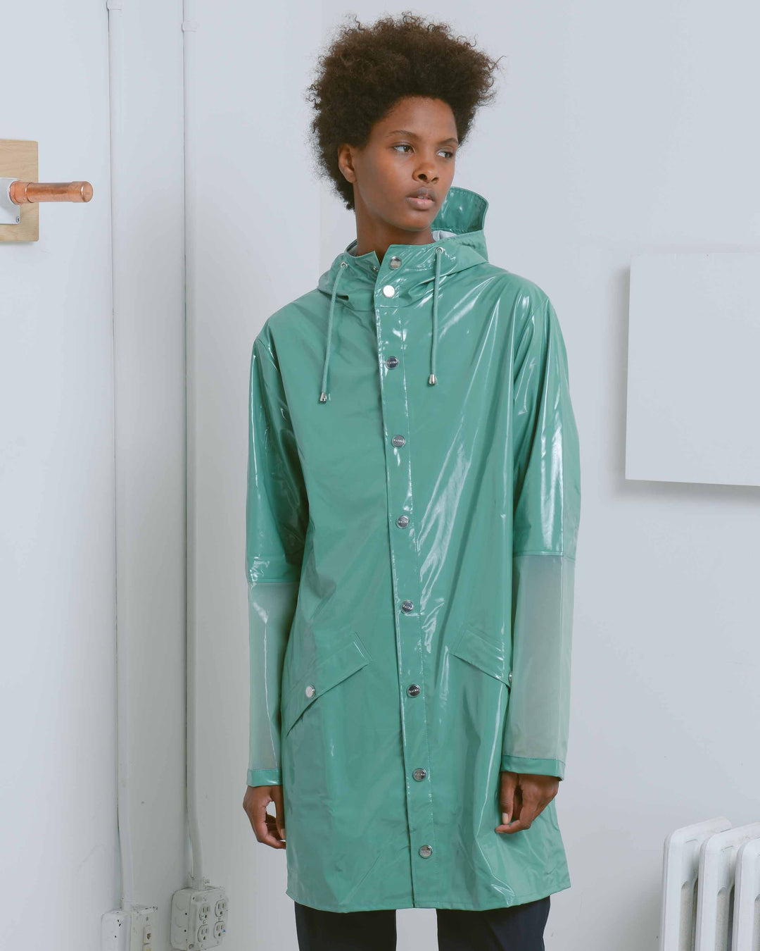 Green LTD Long Jacket